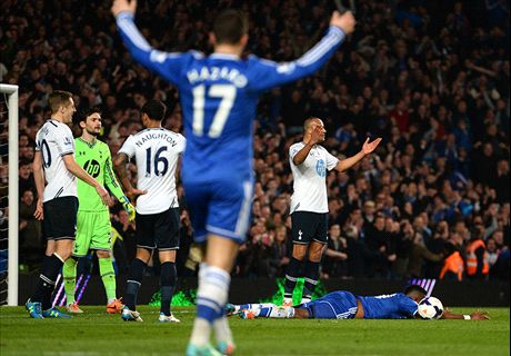 Chelsea punish calamitous Spurs