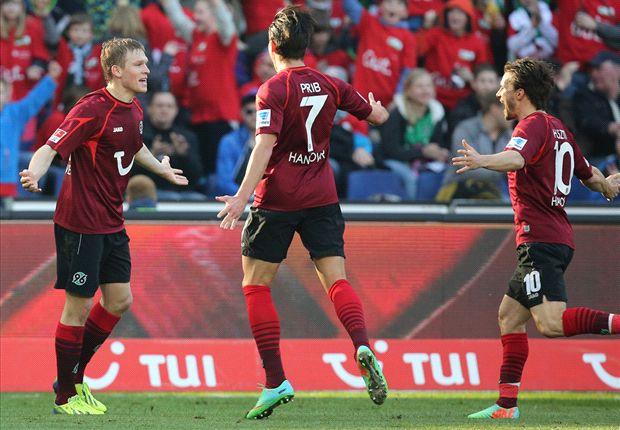 Los goles del sábado en la Bundesliga