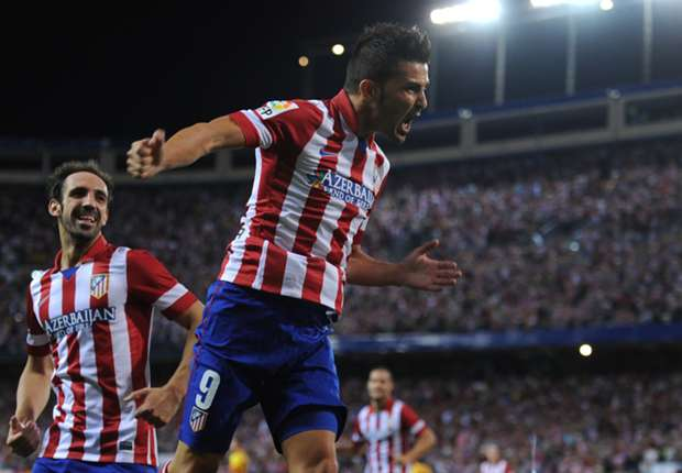 'Fired Atletico Madrid into second place' - Goal's World Player of the Week David Villa