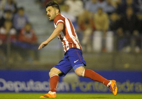 Villa urges Atletico to keep on winning