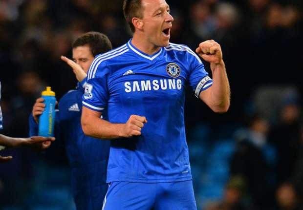 John Terry celebra uno de los goles