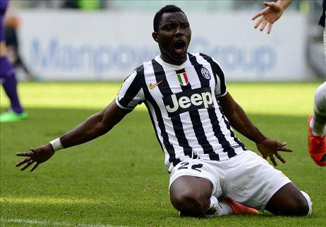 Juventus, Asamoah ratera la CAN