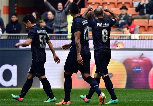 Inter venció a Torino por el gol de Palacio