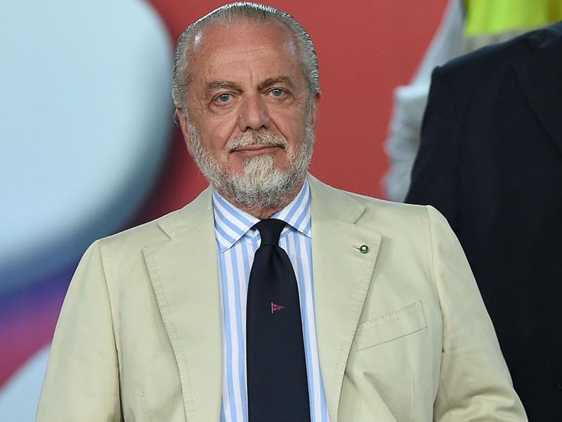 """Naples, De Laurentiis : """"Les agents sont un cancer"""""""