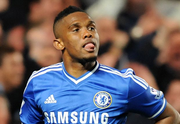 Eto'o trains alone ahead of Paris Saint-Germain clash