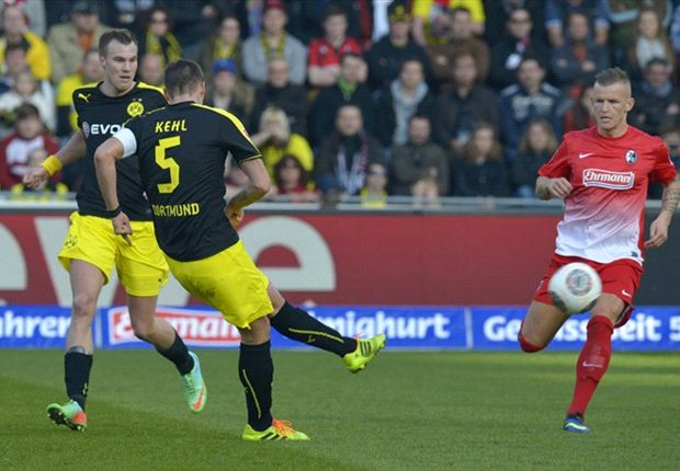 Freiburg 0-1 Borussia Dortmund: Kehl tightens BVB grip on second place