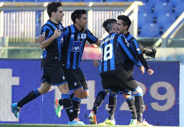 Lazio patzt gegen Bergamo - Candreva fliegt
