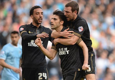Wigan verrast City in FA Cup