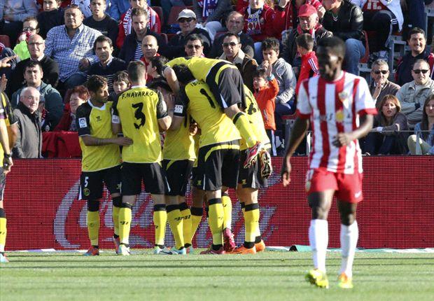 Almería 1-3 Sevilla: Bacca y Gameiro no encontraron rival