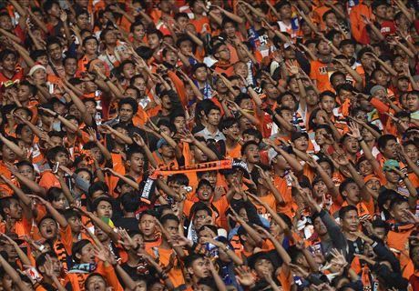Gara-Gara 'Flare', Persija Jakarta Didenda Rp75 juta