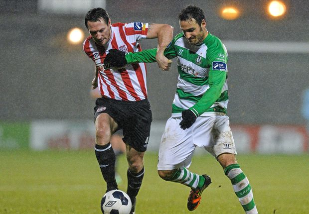 Shamrock Rovers 1-1 Derry City: Kilduff scores late goal to snatch draw
