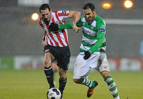 Shamrock Rovers snatch late draw