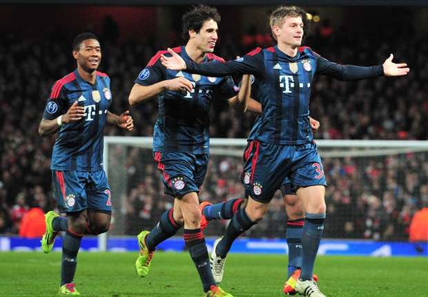 Bayern Munich - Arsenal Preview: Szczesny suspended as Gunners seek to turn Champions League tie around
