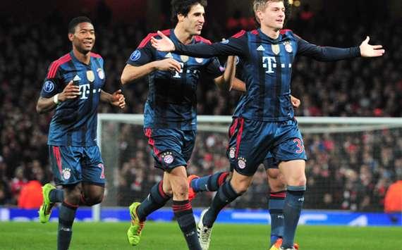 Bayern Munich's Toni Kroos.