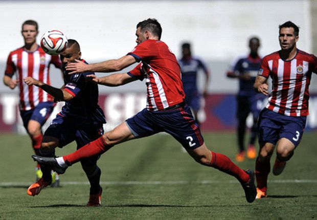 Chivas USA 3-2 Chicago Fire: Burling goal lifts Chivas USA in opener