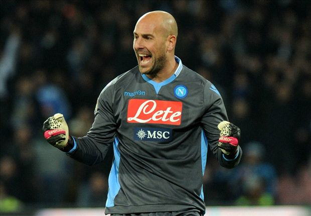 Reina: I want to win Coppa Italia & Europa League with Napoli