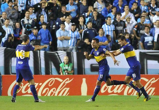 Sánchez Miño adelantó a Boca y le dio tranquilidad