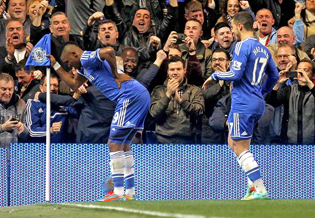 'I am happy here' - Eto'o hints at Chelsea stay