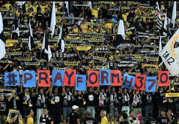 Malaysia Super League pays tribute to missing flight MH370