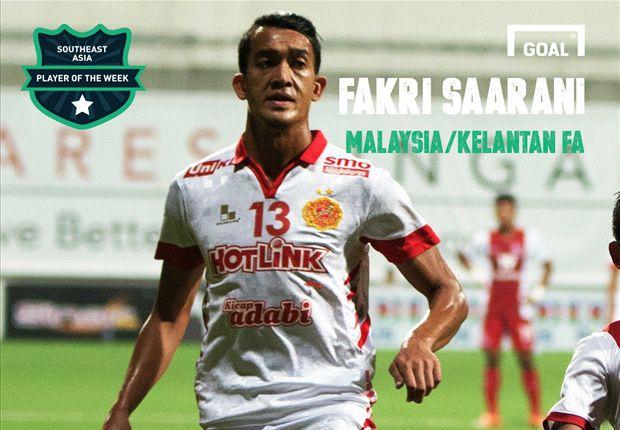 Southeast Asia Player of the Week: Fakri Saarani
