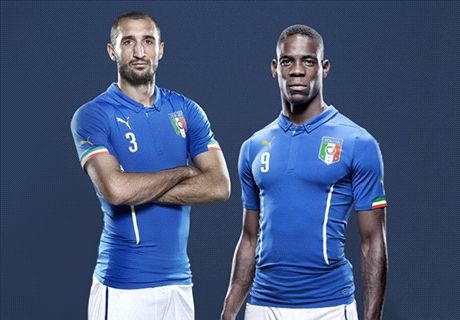 'Balotelli Italy's greatest talent' - Chiellini