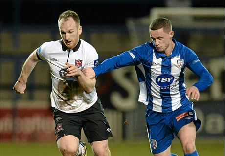 Coleraine 0-2 Dundalk: Lilywhites leave it late to advance to Setanta Sports Cup semi-final