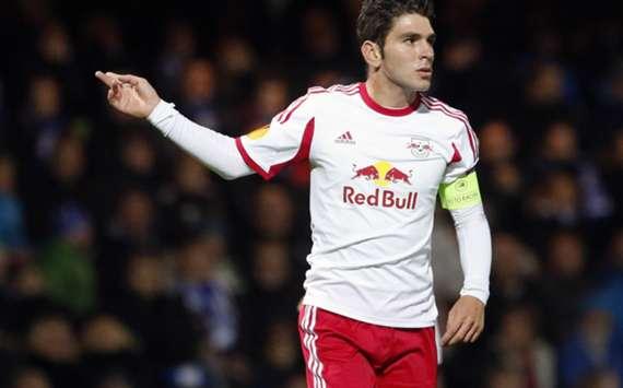 Red Bull Salzburg striker Jonatan Soriano