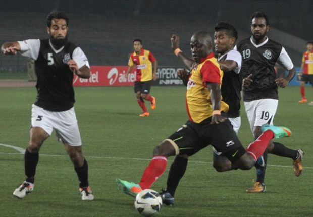 East Bengal 2-1 Mohammedan Sporting: Chidi's late goal wins three points for Colaco