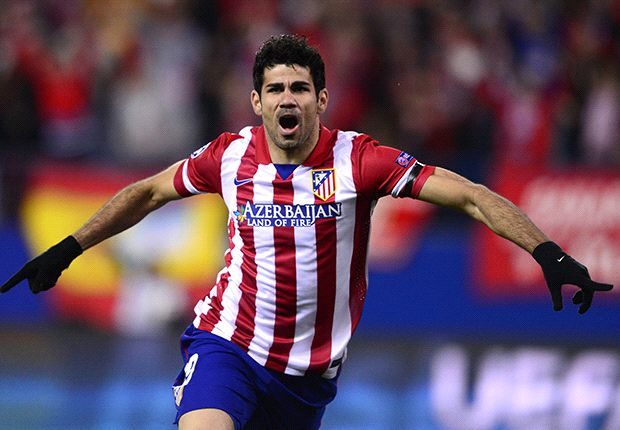 Atletico Madrid 1-0 Granada: Diego Costa keeps Rojiblancos on top