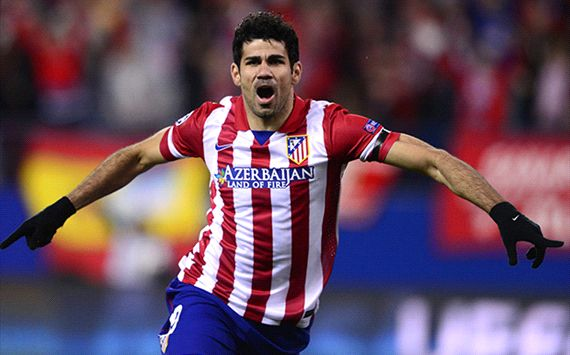 Diego Costa Atletico Madrid AC Milan Champions League 03112014