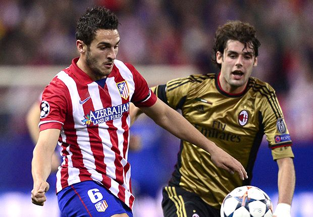 AC Milan were a match for Atletico, insists Poli