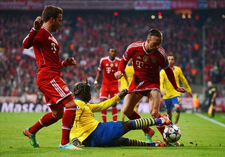 AO VIVO: Bayern 1 x 1 Arsenal