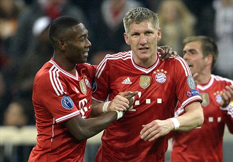 Bayern Ousts Arsenal