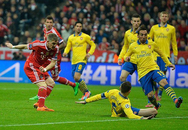 Arsenal kan Bayern niet verrassen
