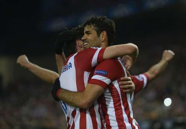 Laporan Pertandingan: Atletico Madrid 4-1 AC Milan
