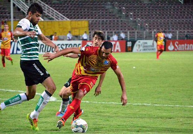 Deportivo Anzoátegui le arrebató un punto a Santos