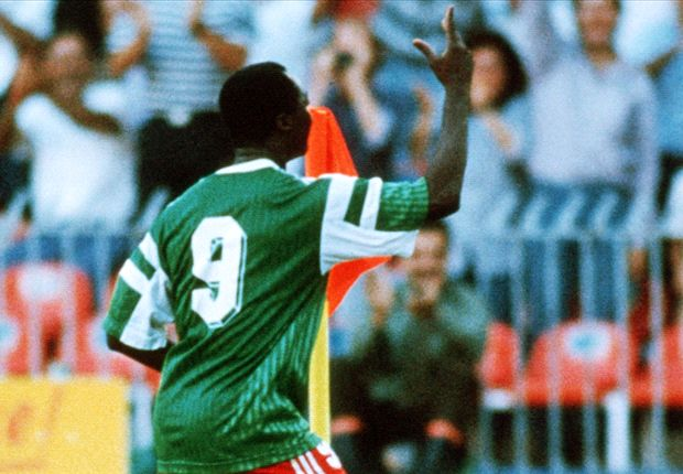 Roger Milla, Cameroon vs Colombia World Cup 1990