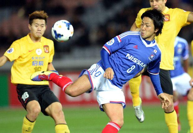 Kosuke Nakamachi up against Guangzhou Evergrande