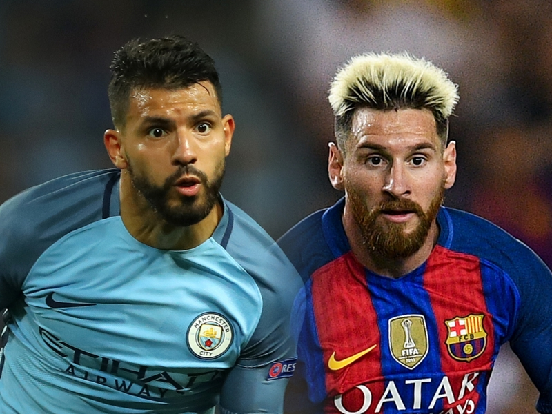 Aguero not expecting to grace the same Man City side as Messi