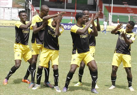 Tusker win to go five clear at the summit