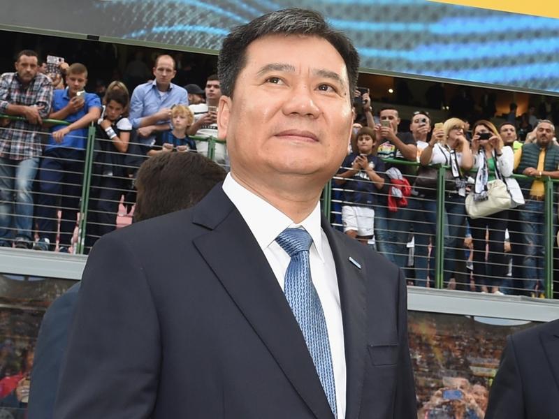 Zhang entusiasta dell'Inter: super premio per la vittoria dello Scudetto