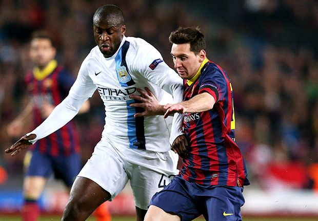 Manchester City would have beaten Barcelona with a good referee, says Toure