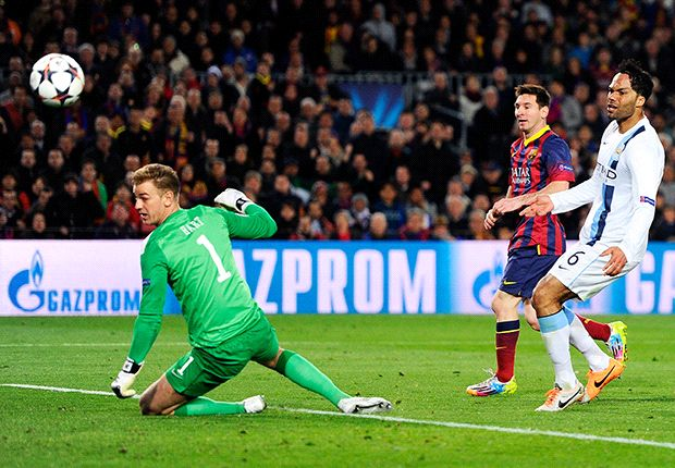 Barcelona 2-1 Manchester City (4-1 Agg): Messi magic seals it before late flurry