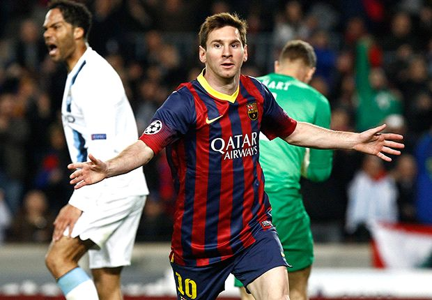 Barcelona 2-1 Manchester City (4-1 Agg.): Messi magic seals tie before late flurry