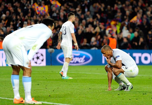 Manchester City machine in danger of stalling after bruising Barcelona defeat