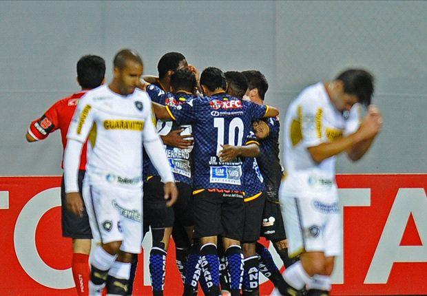 Independiente del Valle venció sobre el final a Botafogo