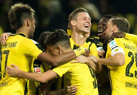Auba & Dembele shine for Dortmund
