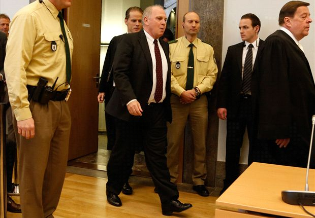 Hoeness decidió no apelar su sentencia y cumplir la condena a la que fue condenado.