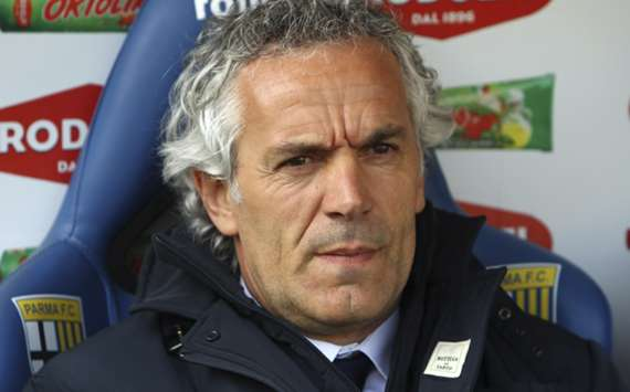 Parma coach Roberto Donadoni
