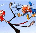 CARTOON: Mou breaks Wenger's face